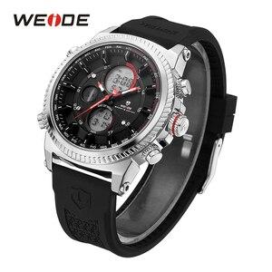 WEIDE Men's Sports Watch Quartz Digital Auto Luxury Band Strap Men Wristwatches for Man zegarki relogio masculino heren horloge