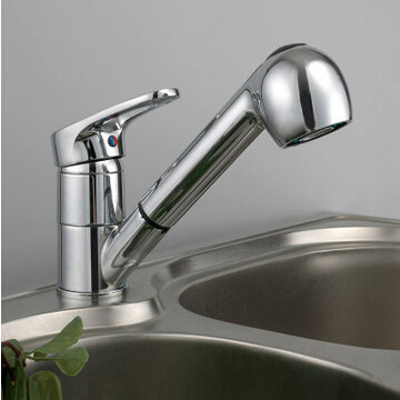 Kitchen faucet pull out single lever kitchen sink taps Basin pull ...