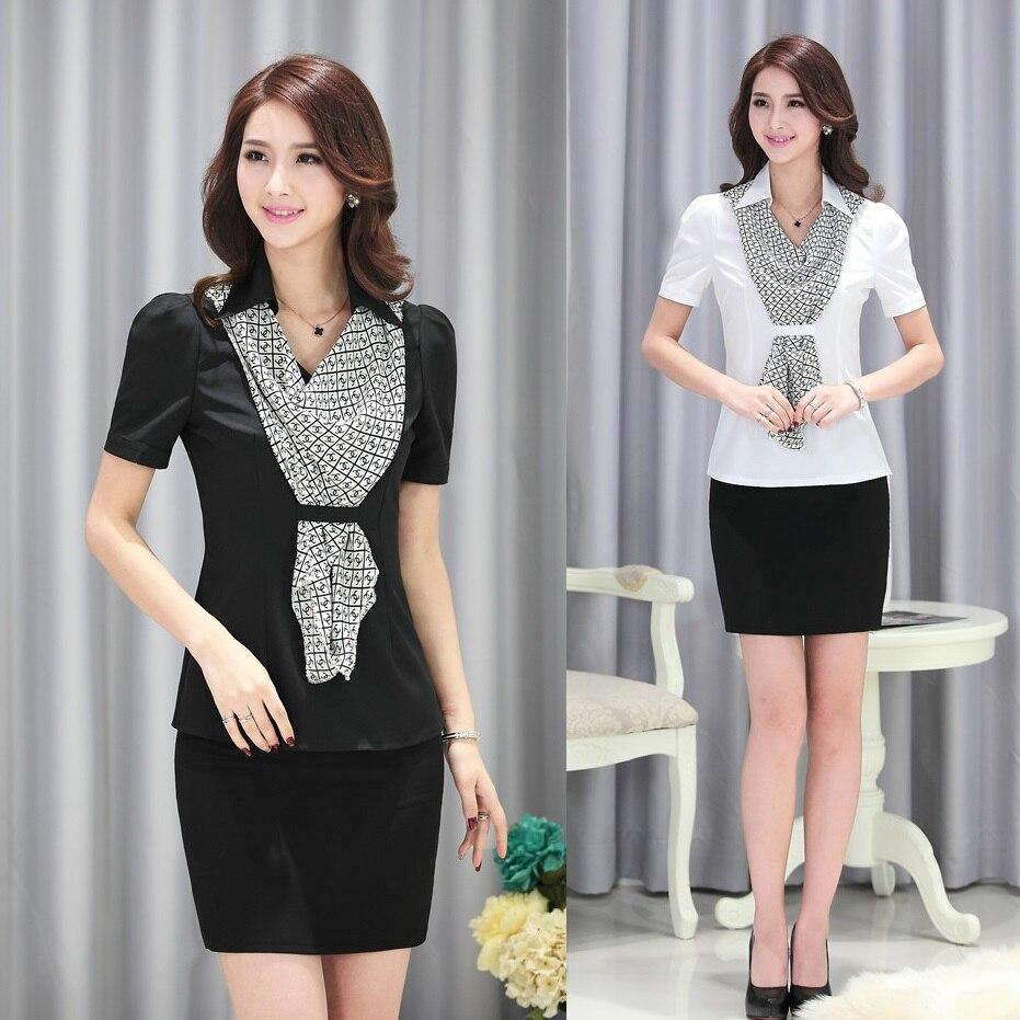 Online Get Cheap Ladies Office Uniform Blouses -Aliexpress.com ...
