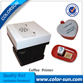 Art Coffee Drinks Printer Food Printer Chocolate Printer With customs own Logos/Pictures with 4 colors 100ml edible ink