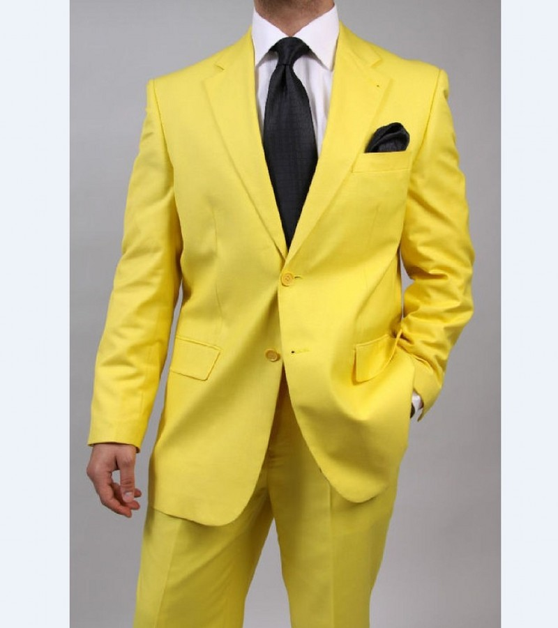 Online Buy Wholesale Mens Yellow Suit From China Mens