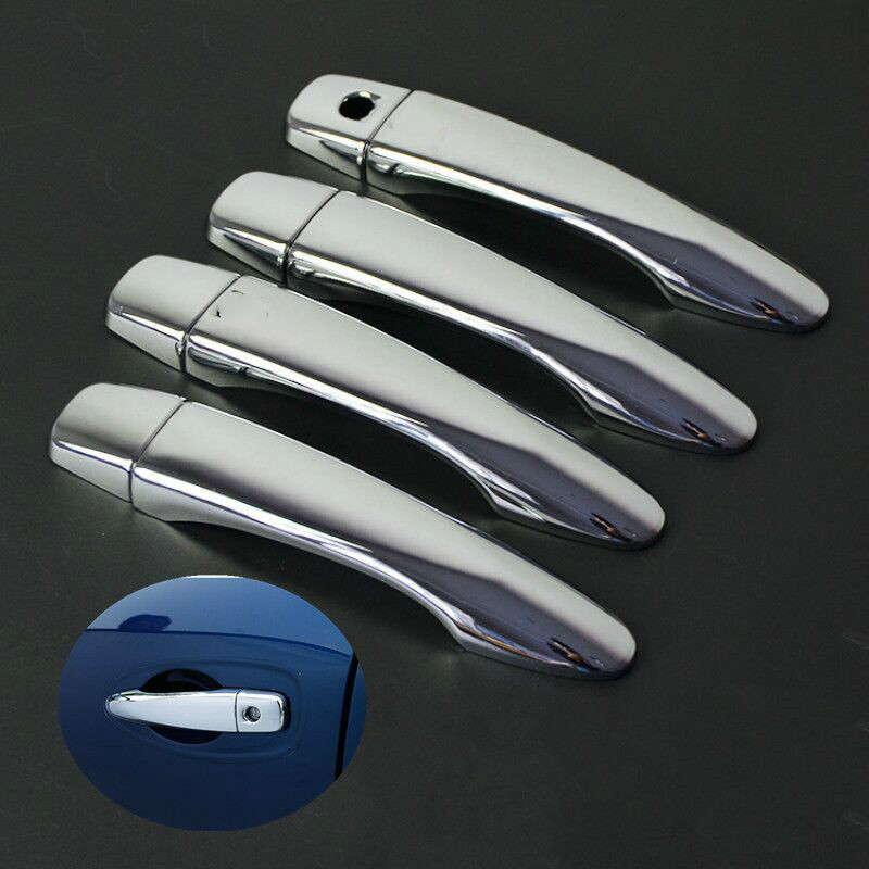 FUNDUOO For Nissan Qashqai 2014 2015 2016 2017 J11 High Quality Chrome Door Handle Cover Pad Sticker Molding Styling Overlay