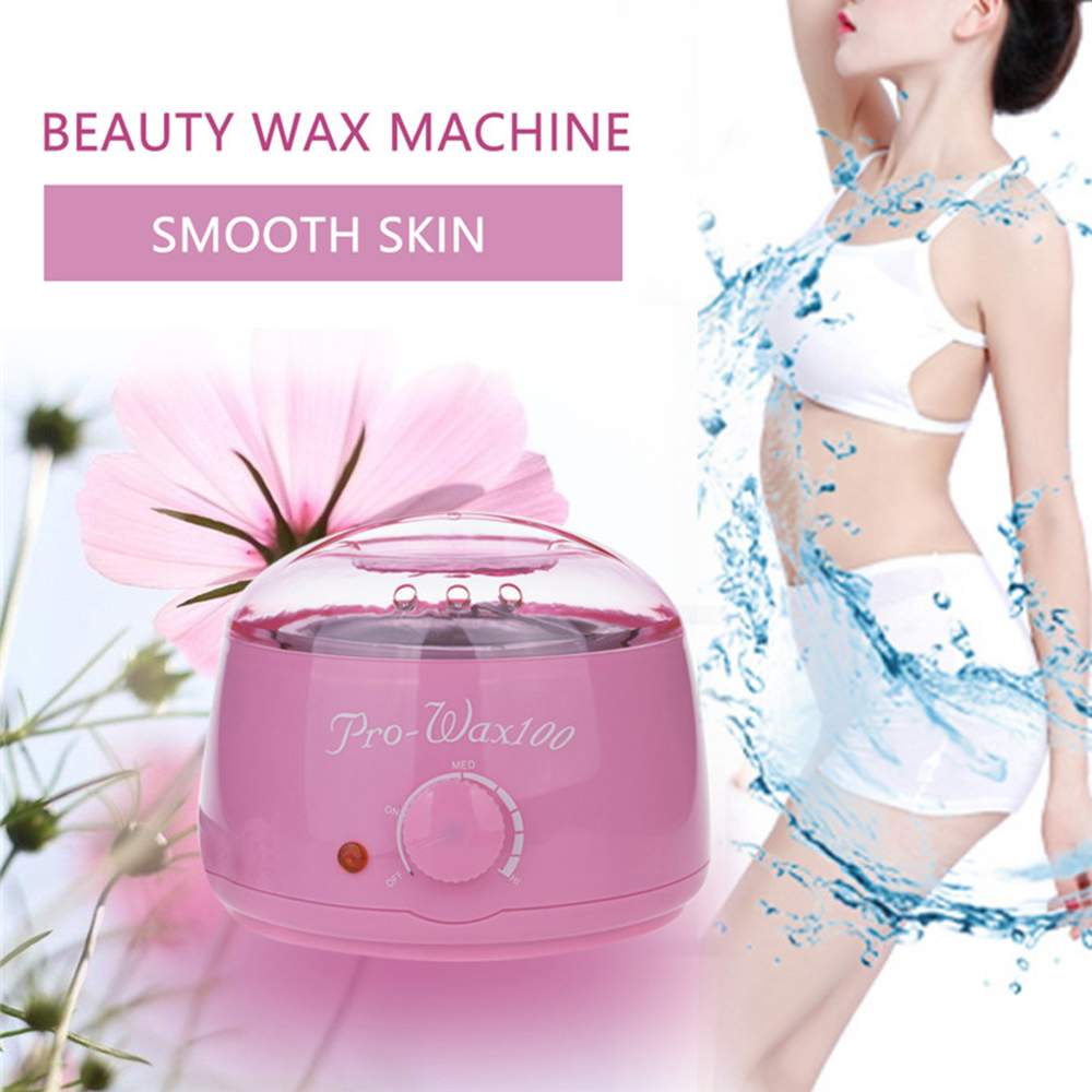Hot Paraffin Wax Warmer Heater SPA Hand Epilator Feet Electric Wax Warmer Machine Body Salon SPA Hair Removal with Wax Bead 500C in Epilators from Home Appliances