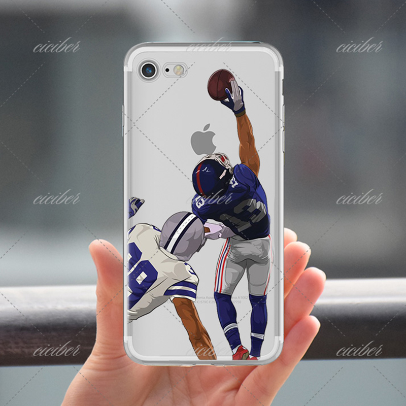 ciciber American Football Odell Beckham Jr Cam Newton Terrific soft silicone phone cases cover for iphone