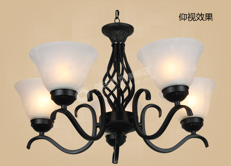 brief lamps pendant lamp Fashion pendant light rustic lighting wrought iron pendant light ZCL ems free shipping fashion pendant light cloth lamp cover crystal pendant light wrought iron candle lamp rustic lighting bq6 3