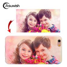 Asuwish Custom Case Diy Photo Soft TPU Cover Silicone Phone For Samsung Galaxy Note 2 1 3 Neo 4 5 7 FE Edge