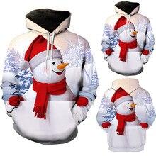 Sunfree Men's Autumn Winter Christmas Elk Printing Long Sleeve Sweatershirt Tops Hot Selling Sweater Man Fashion 3L&45