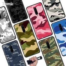 Camouflage Camo military Black Soft Case for Oneplus 7 Pro 7 6T 6 Silicone TPU Phone Cases Cover Coque Shell