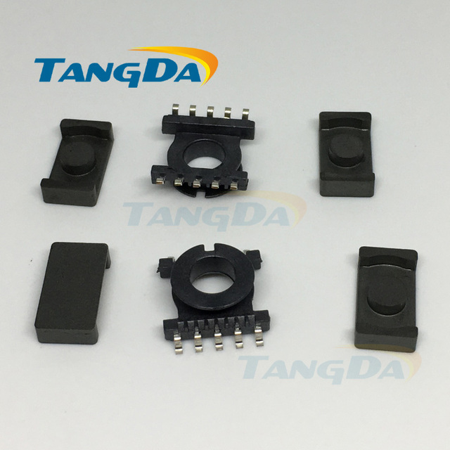 d86a3b79 Tangda ER11.5 core ER Bobbin magnetic core + skeleton 5+5 pin Transformers  ertical SMD PC40 A.
