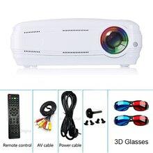 AUN AKEY2 proyector LED, 7,0 lúmenes actualización Android 3500 Beamer. WIFI incorporado, Bluetooth, soporte 4 K Video Full HD 1080 p LED TV