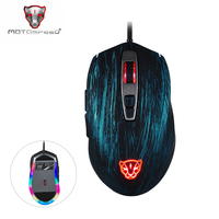 Motospeed V60 5000 DPI Wired Gaming Mouse 7Keys Computer Peripherals Ultra fast Pmw3325 High Precision Optical Engine 100 inch/s
