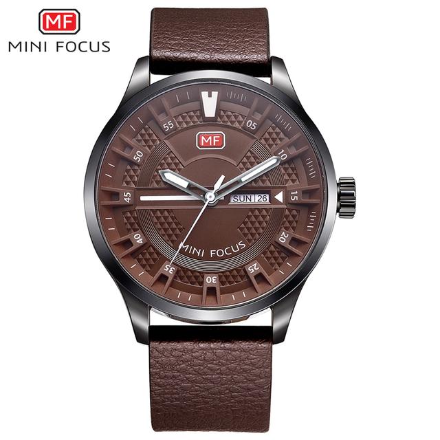 MINI FOCUS Date Men's Watch Top Brand Luxury Quartz Sport Wrist Watch for Men Clock Male Army Military Watches relogio masculino