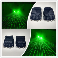 Hot Sale Led Lights Green DJ Laser Glove With 4 Pcs Green Lasers For Stage DJ Laser Dance Club Night Props Free Shipping