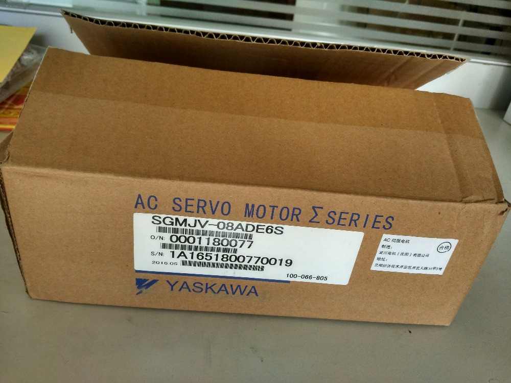 где купить SGMJV-08ADE6S sigma-5 AC Servo Motor 750w 3000rpm 2.39N.m 80mm frame AC200V 20-bit Incremental encoder по лучшей цене
