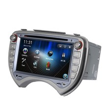 Free Shipping 7 inch Car DVD Player GPS Navigation For Nissan March Verita Micra 2010 2011 with Bluetooth Ipod 1080P RDS