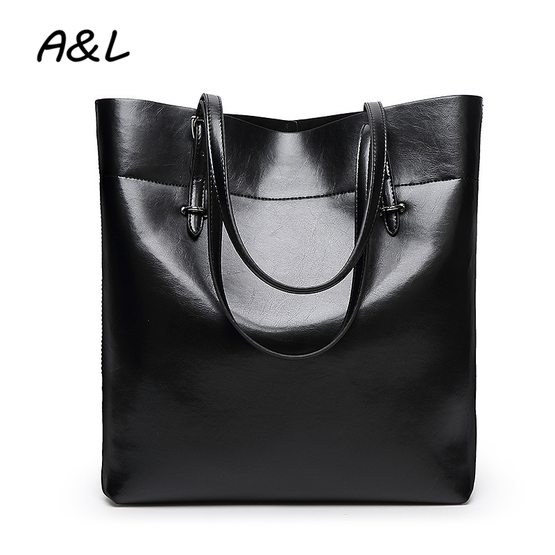 High Quality Women Bag Leather Luxury Handbags Women Designer Vintage Shoulder Bags Lady Big Size Tote Sac a Main Bolsos A0190 women messenger bags 2017 luxury handbags women bags designer women leather shoulder bags high quality bags bolsos l4 3129
