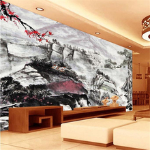 3d chinese HD blossom Europe TV backdrop wallpaper living room bedroom murals free shipping цена 2017
