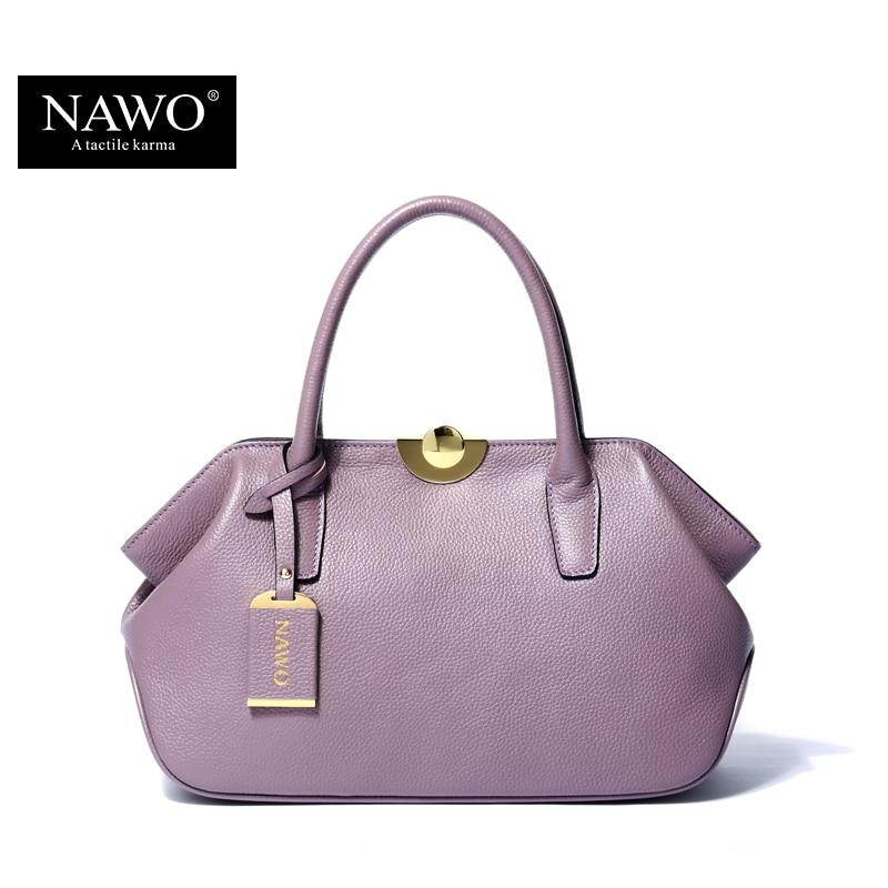 НАЖО из натуральной кожи сумка женщина Брендовая дизайнерская обувь известных кожаные женские сумки бренда плечо Сумка Хобо сумки кошелек ...