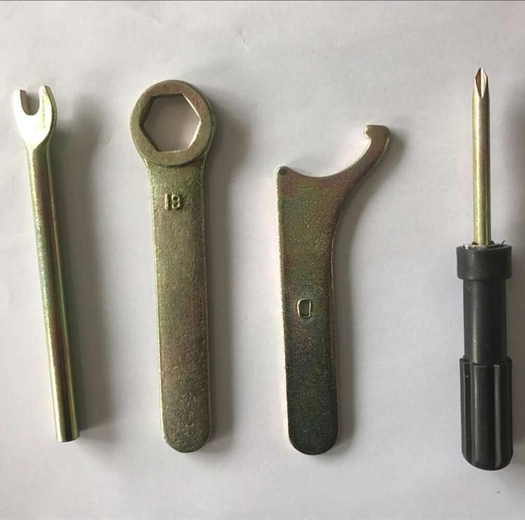 Darmowa wysyłka 9 sztuk stock zestaw narzędzi ręcznych klucz - Zestawy narzędzi - Zdjęcie 2