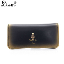 Purse Women's 2018 new PU leather simple ladies wallet model