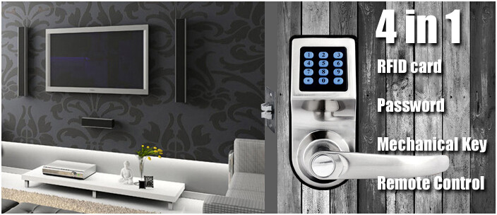 Smart Lock with Remote Control 1