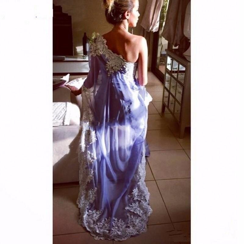 vestido de noiva 2017 Saree Evening Dresses Indian Chiffon Applique ...