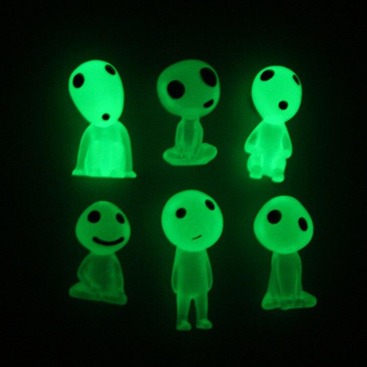 Автомобиль украшения Прекрасный световой эльфы мини смолы лесной дух эльфы салона Decorat аксессуары Офис украшения подарок