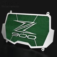 Free Shiping Stainless Steel Motorcycle Radiator Guard Radiator Cover For Kawasaki Z900 2017