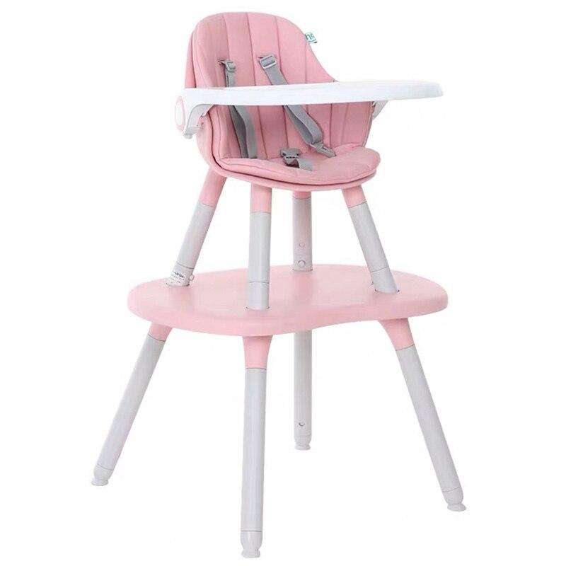 LY266 enfants double usage dinant la chaise détachable de haute qualité bébé mangeant des sièges dinant la Table chaise multifonctionnelle forme mignonne de champignon