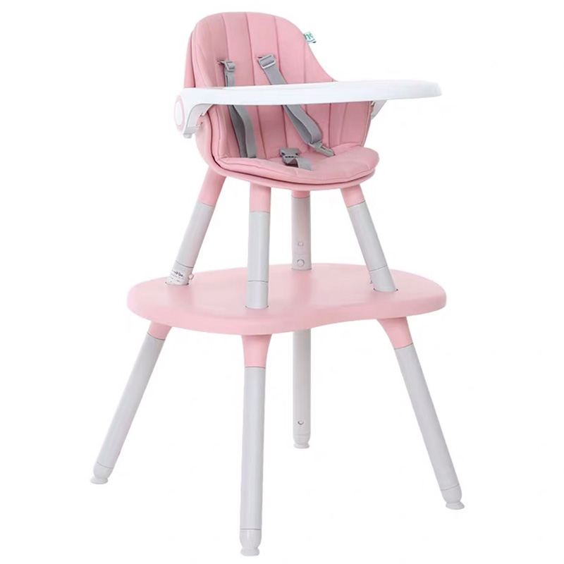 LY266 Kids Dual-Use Dining Chair Detachable High Quality Baby Eating Seats Dining Table Multi-Function Chair Cute Mushroom Shape