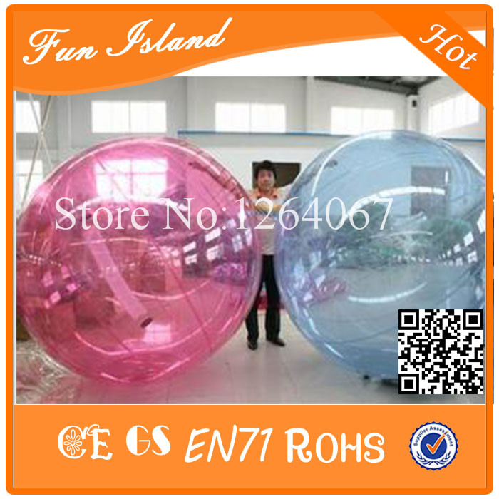 Good Price 2m Diameter Inflatable Human Hamster Ball,Water Walking Ball ,Zorb Ball For Sale free shipping 2 0m clear water walking ball zorb ball inflatable water ball inflatable human sized hamster ball for sale