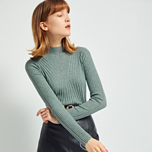 Shuchan Office Lady Wool Women Sweaters and Pullovers Autumn Winter 2019 New Items Knitted Sweater Korean Fashion Clothing