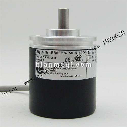 Stock EB50B8-P4PR-600 Elco ELCO codificador rotatorio Del Eje 8mm600
