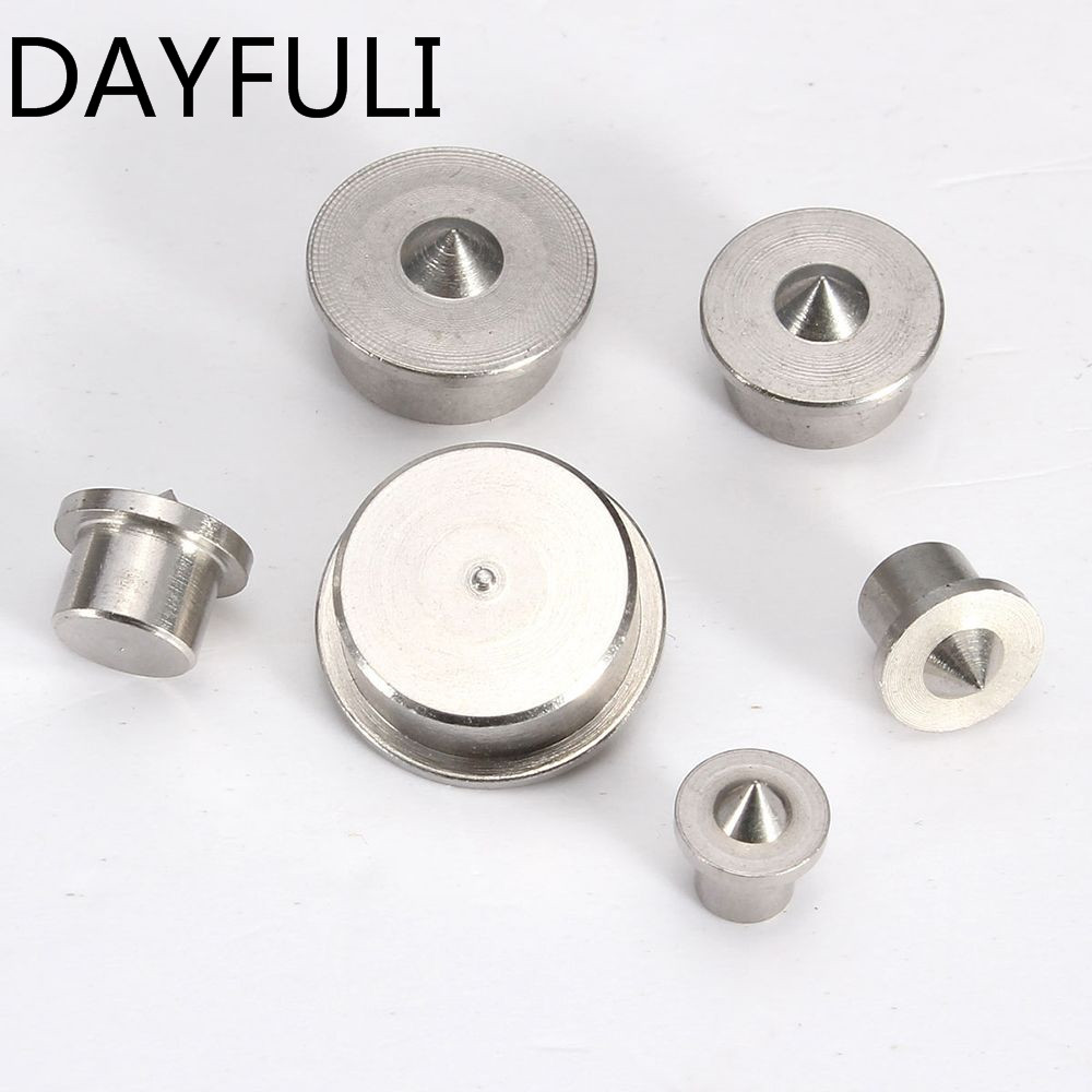 New Arrival 6pcs Dowel Drill Centre Points Pin Wood 4-12mm Dowel Tenon Center For Drill Hole