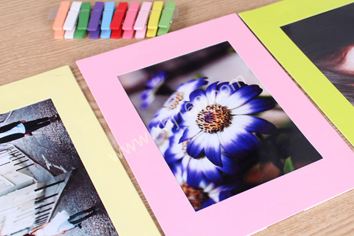 aliexpresscom buy new colorful paper photo frames multi size cardboard photo frame diy home decoration wall picture hanging from reliable pictures terry