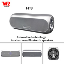WPAIER HOPESTAR H19 Wireless Bluetooth speaker touch control Portable outdoor NFC Bluetooth mini speaker Shocking TOP quality
