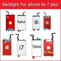 Wyświetlacz LCD Podświetlenie panelu Dla iPhone 6 s 6 s 7 8 7 oraz ekran Lcd backlight film z funkcji dotykowej 3D flex cable wymiana