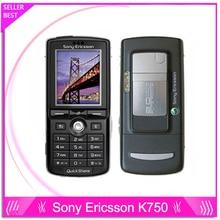 Sony Ericsson k750 K750i téléphone débloqué soutien russe clavier Aracbic clavier téléphones mobiles garantie d'un an