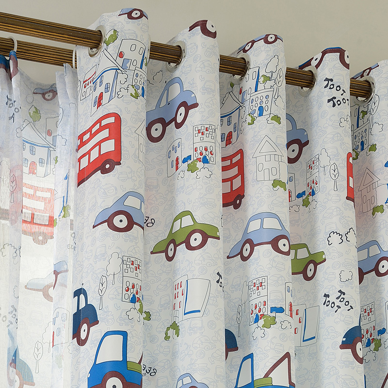 Kinder Zimmer: Kinderzimmer Vorhange Junge