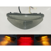waase For Yamaha Riader S SCL XV1900 2008 2009 2010 2011 2012 2014 E Mark Tail Light Brake Turn Signals Integrated LED Light