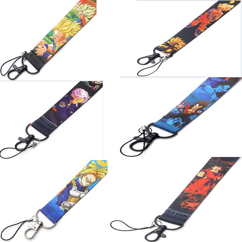 R105 Dragon Ball Key ID Card Gym Mobile Phone Strap USB Badge Holder DIY Mobile Phone Lanyard
