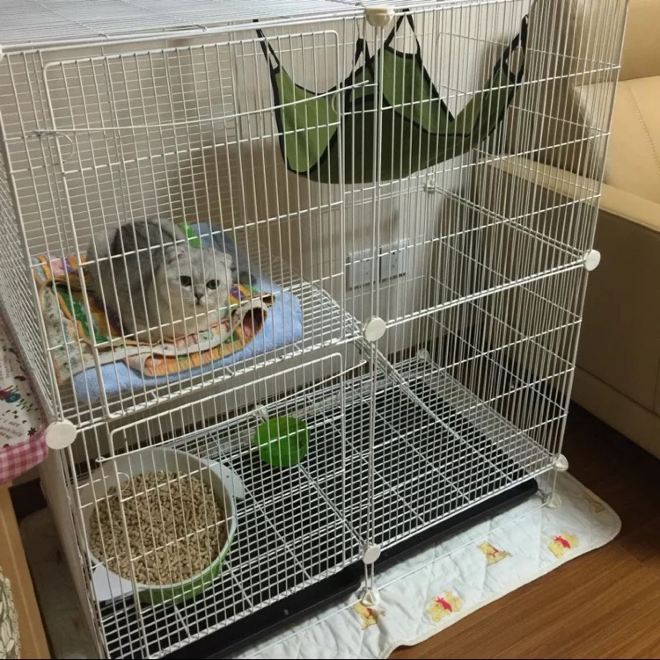 how to build a pet squirrel cage