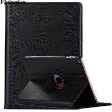 Viviration Flexible Leather Cover Case For Apple iPad 9.7