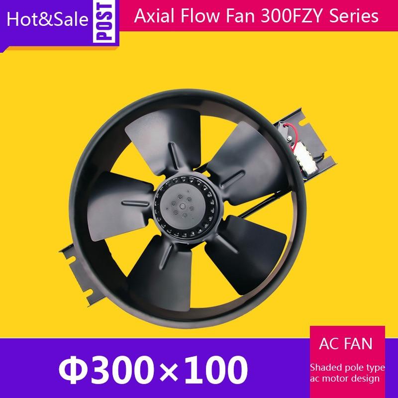 Spot Sale 300FZY8-D Small Size Cooling Fan Axial Flow Ventilator /0.55A  200W 1200CFM 2100RPM Ventilation Equipment Draught Fan jakcom smart ring r3 hot sale in fans as solar ventilator draagbare ventilator cooling fan 220v