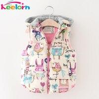 Keelorn Jackets & Coats 2018 Vintage Jeans Jackets for Girl Toddler Baby Denim Jackets Girls Jean Jacket Rose Flower Embroidery