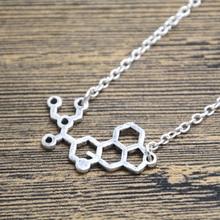 12pcs/lot LSD Necklace LSD Molecule Necklace Acid Trip Necklace Chemistry LSD Jewelry Science Jewelry Acid Jewelry