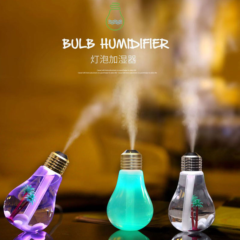 2016 Newest 400ML USB DC 5V 7 Colors Night Light Air Ultrasonic Humidifier Oil Essential Aroma Diffuser Mist Maker Fogger