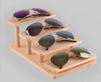234 ярусный деревянный подставка для солнцезащитных очков очки показывающие стойки ювелирных изделий держатель ящичек для браслетов насто