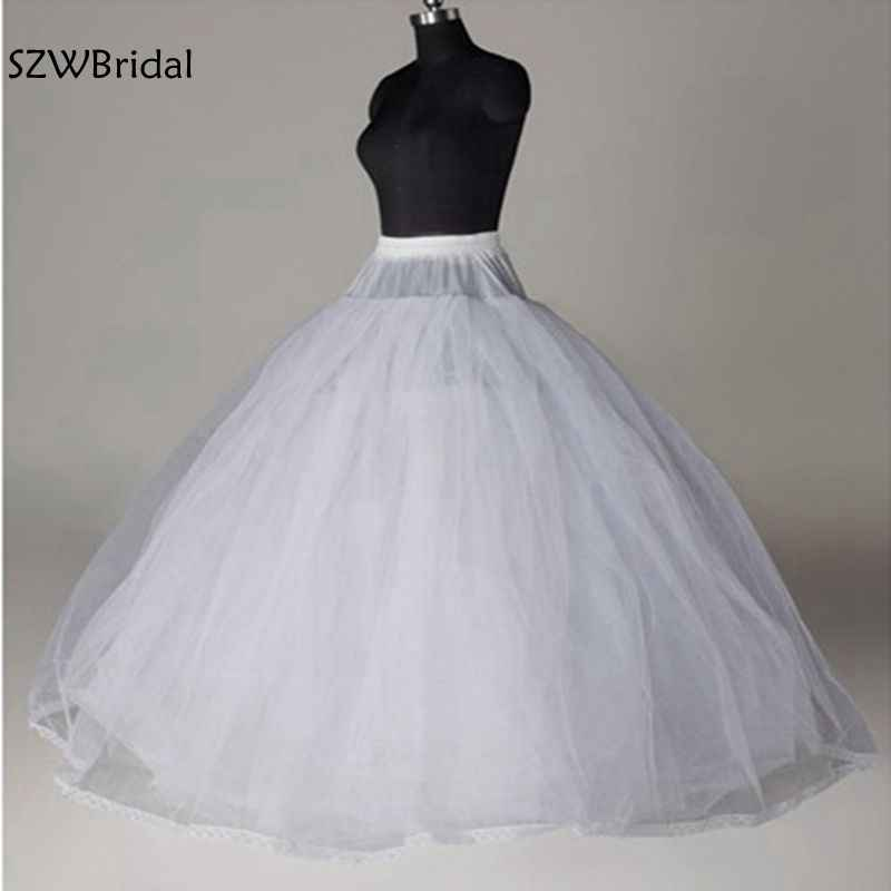 e920322ea55c Detail Feedback Questions about New Arrival White 8 Layer Tulle without  Hoops Wedding dress Petticoat Jupon mariage Underskirt halloween wedding  accessories ...