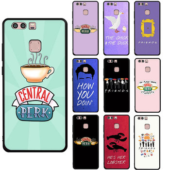 Central Perk Coffee friends tv show Soft phone cover case for Huawei P8 P9 P10 P20